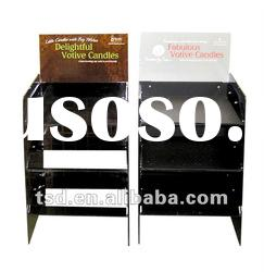Black acrylic display stand with high quality