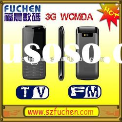 Cheapest 3G mobile phone GSM WCDMA Mobile phone with Dual SIM