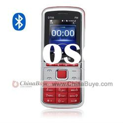 D700 Quad Band Dual SIM Dual Standby Bluetooth mobile Phone