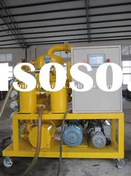 Double-stage vacuum Insulating oil purifier and Transformer oil purification plant