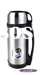 Double wall stainless steel vacuum pot