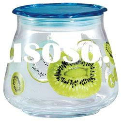 Food Glass Jar with Plastice Lid