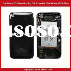 For iPhone 3GS Back Cover Housing Full Assembly With Battery 16GB-Black