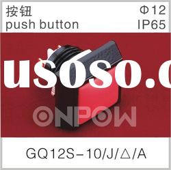 GQ12S-10/J/A pushbutton switch,switch panel ,electrical switch