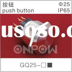 GQ25-11 pushbutton switch,on/off switch,pushbutton