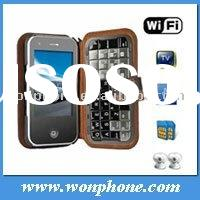 GSM Dual Sim T2000 WiFi TV Mobile Phone With Qwerty Keyboard