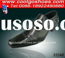 Genuine leather mens footwear dress styles made in guangzhou