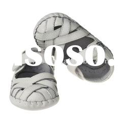 Genuine leather summer baby shoes BB-B27128WH