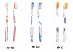 Gracefule Plastic Toothbrush for Family adults