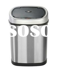 HNG12A1 12L electronic stainless steel refuse bin,rubbish bin,trash can