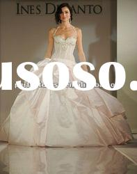 Halter neck ball gown Blush wedding dresses 2011 crystal NSW3189
