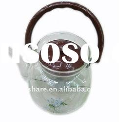 High Quality Glass Teapot With Steel Filter ( Heat-Resistant Glass Teapot )
