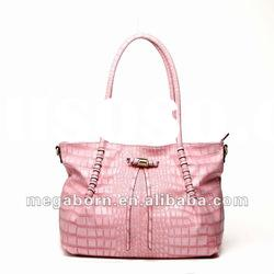 High-quality PU and hardware Pink Tote Bag Ho828-1