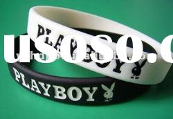 Hot!!! Custom ODM Debossed Silicone Bracelet/Debossed silicone wristband