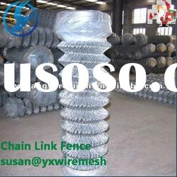 Hot sale! 14gauge*1/2 mesh galvanized chain link fence (manufacture)