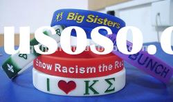 Hot sale silicone wristband with debossed logo