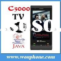 Hot sell GSM Dual Sim C5000 Wifi TV Mobile Phone