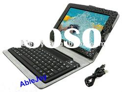 Keyboard case for iPad 2 leather case