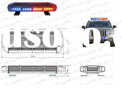 LED-855H auto emergency high power LED mini light bar