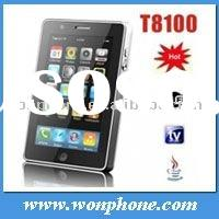 Mini E-Pad GSM T8100 Dual Sim WIFI TV Mobile Phone with Java