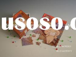 Mini puzzle with full color ,3D paper puzzle