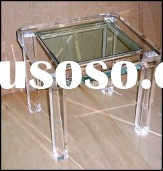 Modern design Square Acrylic Lucite coffee table