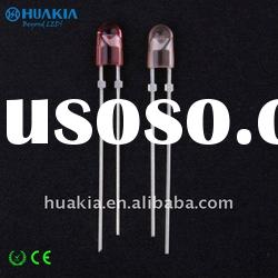 Oval LED Diodes Red Color