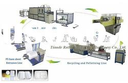 PS fast food macking Machine/fast food box production line/Disposable lunch box production line