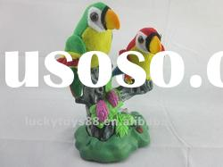 Parrot toy,Voice record ,talking parrot,B/O parrot