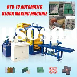 Selling CHINA NOAH QFT8-15 automatic cement concrete pavers block brick making machine HOTTEST