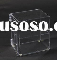 Two Level Acrylic Food Bakery Display Case