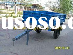 Two wheels 2-3 Tons trailer with hand brake