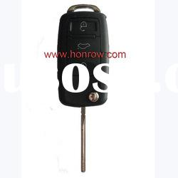 VW 3 button remote key shell without panic button (the key head connect face is square)