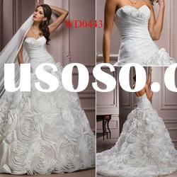 WD0443 Taffeta Sweetheart Ball Gown Luxury Wedding Dresses 2011