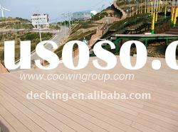 WPC composite decking / building material