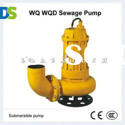 WQ Cast iron or Stainless steel Submersible Sewage Pump electric water pump