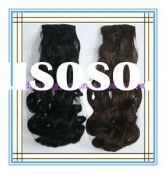 Water wave synthetic hair extension
