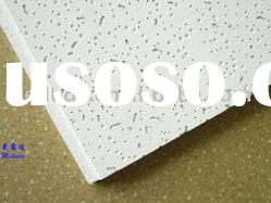 acoustic mineral wool ceiling panel