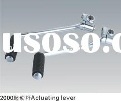 actuating lever, kick starter,motorcycle engine parts
