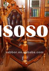 antique carved chairs carving office chair office furniture(AM-01)
