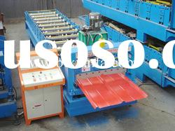 automatic roof panel color sheet roll forming machine