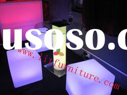 bar chair/bar chair/nightclub furniture/led chair/bar stool chair/plastic cube chair