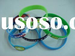 best promotion gift lucky silicone band bracelet