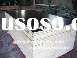 black color poplar core black film faced plywood with good quality