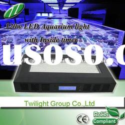 blue and white 120w led reef light for tank fish and corals