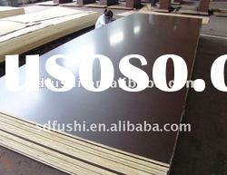 brown color poplar core film faced plywood with good quality