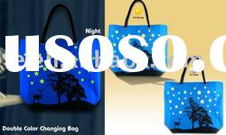 color changing bag,UV bag,Shopping Bag,Beach Bag,Promotion Bag,Fashion Bag