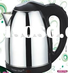 electric auto lid kettle(1.8L,1800W,stainless steel kettle,cordless kettle)