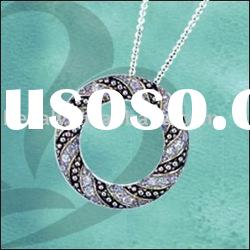 fashion pendant .925 silver jewelry necklace (Call us toll free: +1-888-5513593)