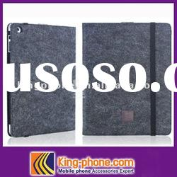 fiber pattern leather case for ipad 2